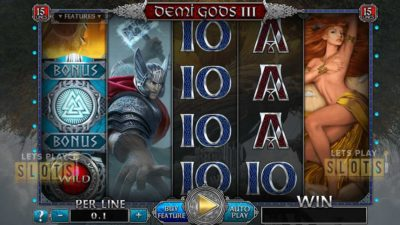 Demi Gods III 15 Lines Edition