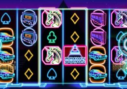 "Journey Back To The 80s With The New ""Neon Pyramid"" Slot"