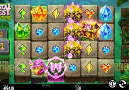 "Thunderkick Releases New ""Crystal Quest: Deep Jungle"" Slot"