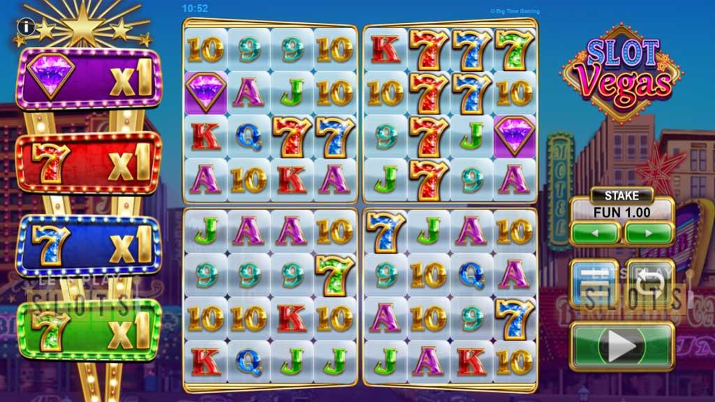 Slot Vegas Megaquads