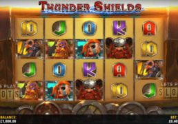 "Sail Through The A Viking Storm With ""Thunder Shields"""