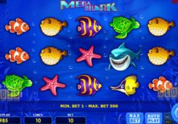 "Dive To The Depths Of The Ocean With Amatic's ""Mega Shark"" Slot"