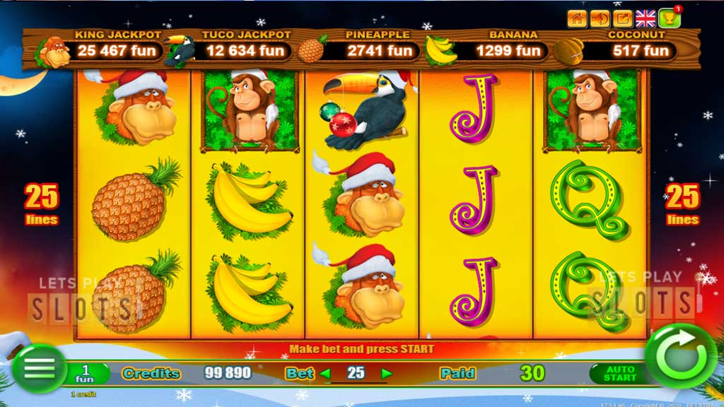 New Year Monkey Jackpot