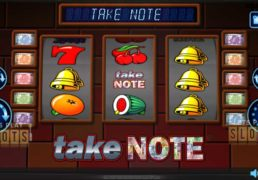 "Realistic Games Comes Out With Classic Theme ""Take Note"" Slot"