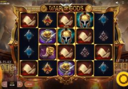 "Get Ready To Battle Into The ""War Of Gods"" From Red Tiger Gaming"