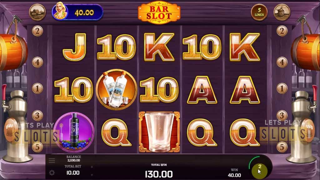 "Golden Rock Studios Lets You Whet Your Third With ""Bar Slot"""