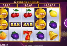 "All41 Studios Releases Jackpot Slot ""6 Tokens Of Gold"""
