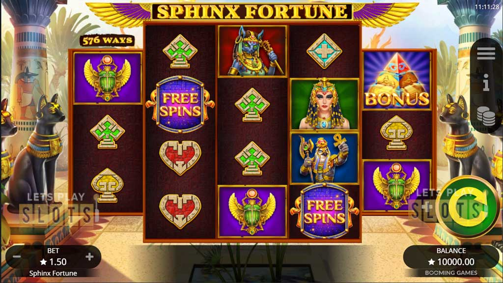 Sphinx Fortune: Hold And Win