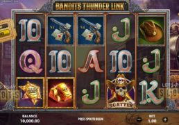 "Prepare To Shoot It Out In The Wild West With ""Bandits Thunder Link"""