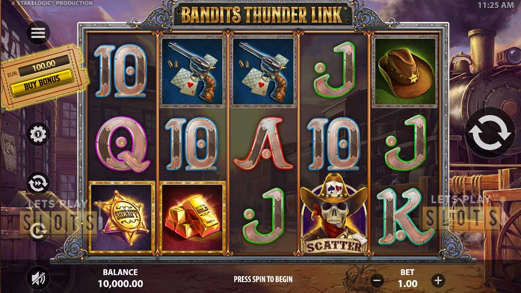 """Prepare To Shoot It Out In The Wild West With """"Bandits Thunder Link"""""""