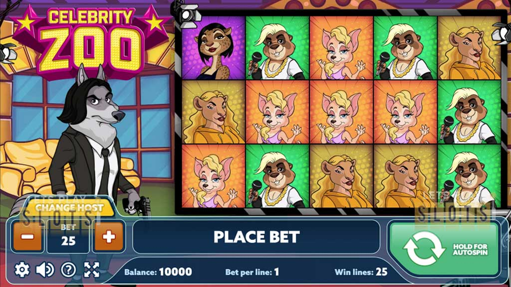 "PlayPearl Releases Interesting New Slot Called ""Celebrity Zoo"""