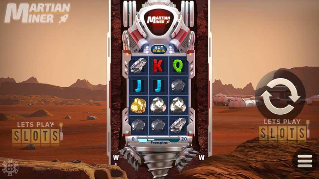 Martian Miner: Infinity Reels
